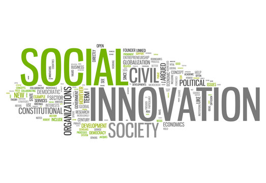"Word Cloud ""Social Innovation"""