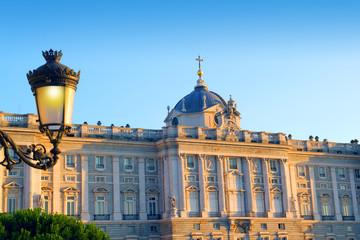 Madrid Palacio de Oriente monument