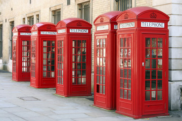 5 phone boxes
