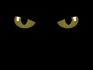 vector feline eyes