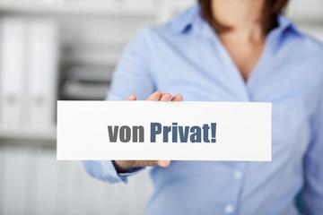 von privat
