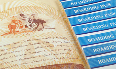 australian passport pages