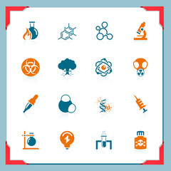 Science icons   In frame series