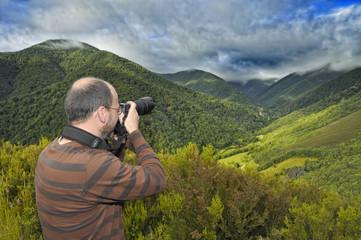 Fotografía sobre el bosque de Muniellos.