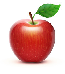 red apple