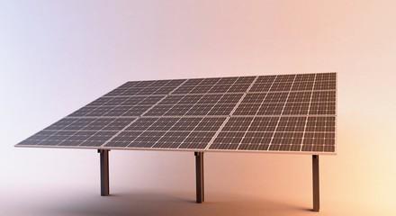 pannelli solari fotovoltaico 3d