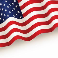 vector USA flag