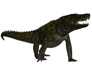 Uberabasuchus terrificus- 3D Dinosaurier