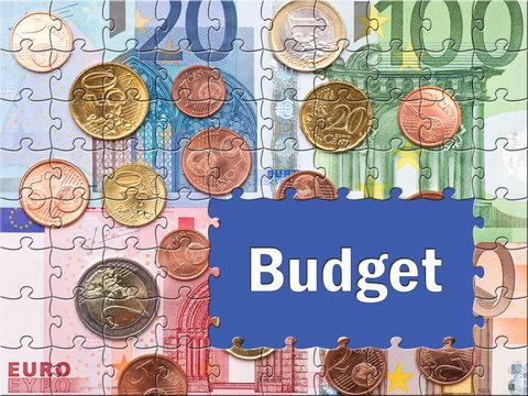 Budget - Geld Konzept
