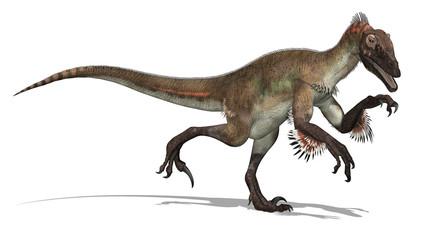 Utahraptor Dinosaur - 3d render