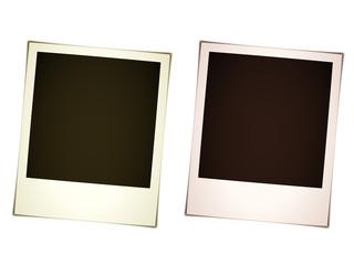 vector instant photos