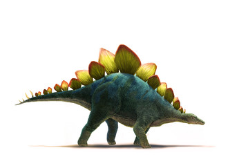 ステゴサウルス 横
