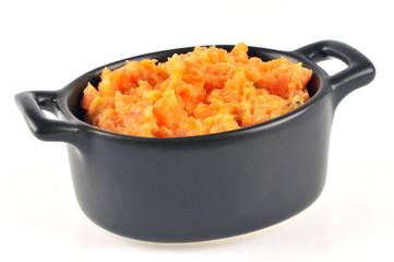 La purée de carottes