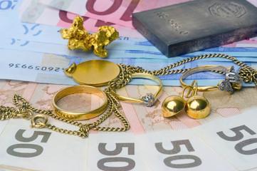 Achat et vente de vieux bijoux