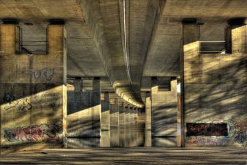 Brücke Seilersee HDR