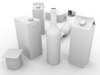Packaging models