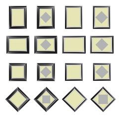 Rectangular Frames, vector