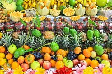 compositions de fruit éxotique