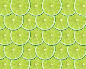 limes fruit background