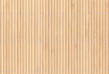 Bambusmatte Hintergrund - hellbraun