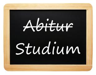 Abitur und Studium