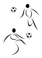 Vector soccer symbol
