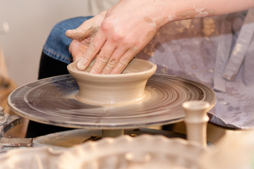 potter on the potters wheel