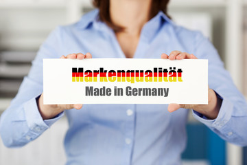 markenqualität made in germany