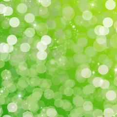 ambiance festive - fond vert