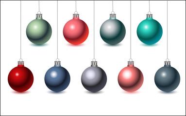 Christmas Balls, vector