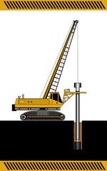 hydraulic drilling machine , construction machinery equipment is
