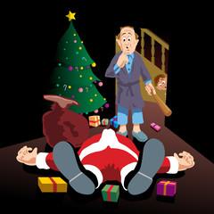 Santas little accident-no outline