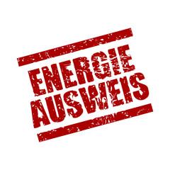 stempel eckig energie ausweis I