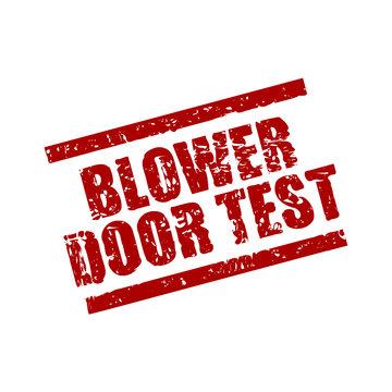 stempel eckig blower door test I