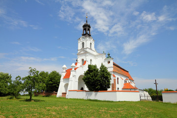 Poland - Wielkopolska, church in Olobok