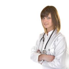 Junge hübsche Ärztin