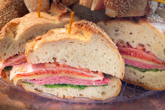 Italian Style Party Sandwich