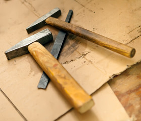 old-fashioned worktools