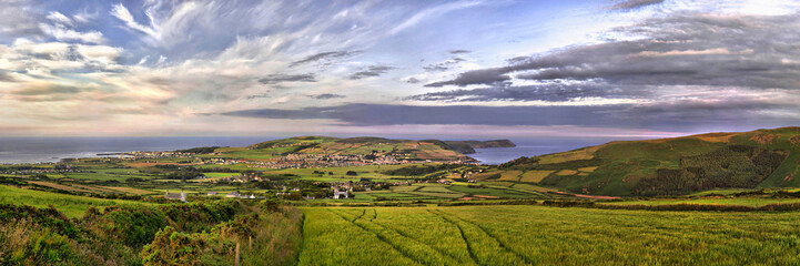 HDR Panorama - South - Isle of Man