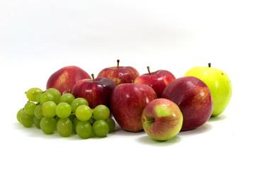apple and grape