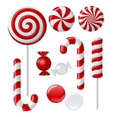 Delicious lollipop collection