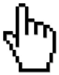 Mauszeiger, Hand