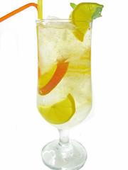 cold lemonade fruit cocktail
