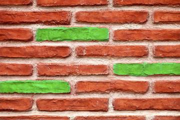 Steinmauer Backstein