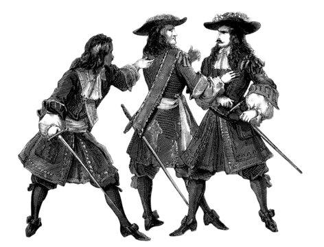 3 Mousquetaires