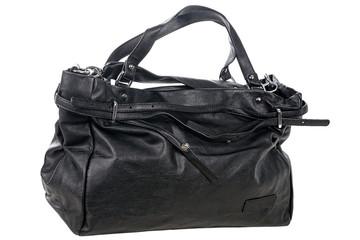 Black fashion womans handbag