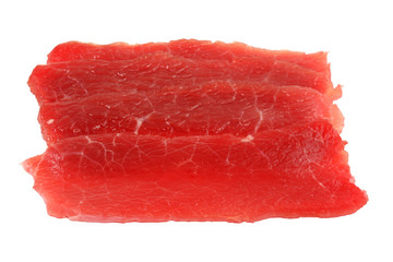 paper-thin sliced beef for Shabu Shabu (Japanese Hot pot)