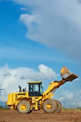 construction loader excavator