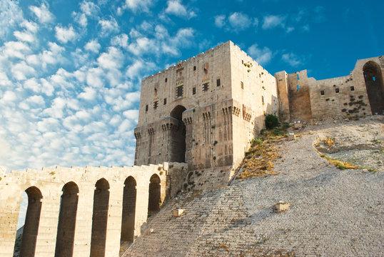 Aleppo Castle in Syria