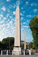 Obelisk at hippodrome in Istanbul - Turkey